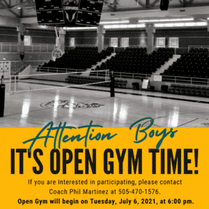 Open Gym for Boys