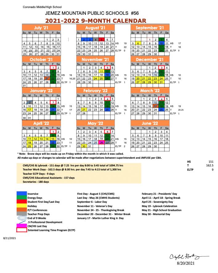CHS_2021-22_Calendar