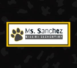 Ms. Sanchez