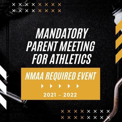 Mandatory Parent Meeting for Athletics