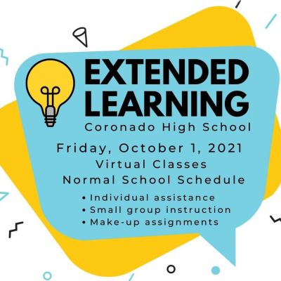 CHS Extended Learning Virtual School Day October 1, 2021