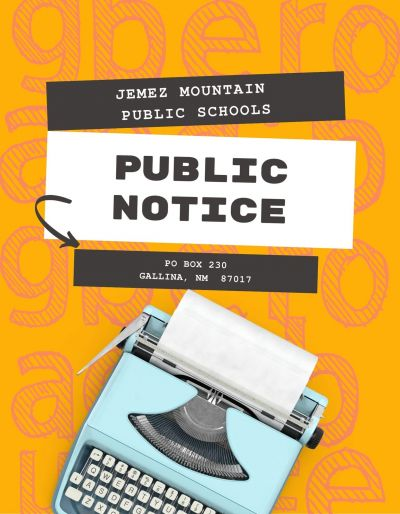 JMPS Public Notice:  Destruction of Special Education Student Records